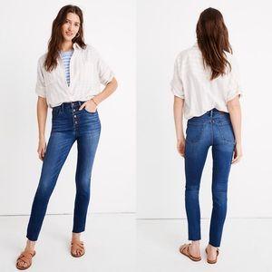 NWOT Madewell High Rise Skinny Crop Jeans 26